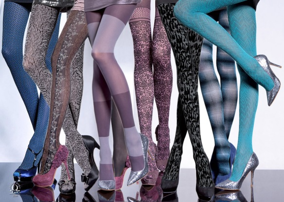 Fiore Patterned Hosiery