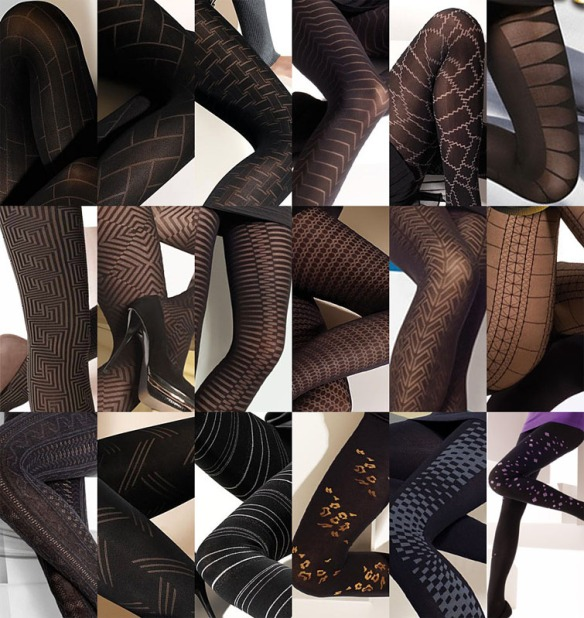 Gatta Patterned Hosiery 1