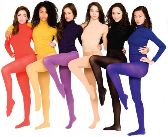 American Apparel tights & turtlenecks