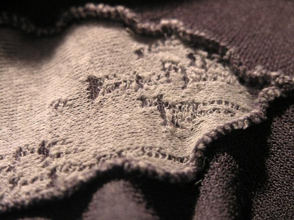 Donna Karan Satin Jersey gray gusset 2