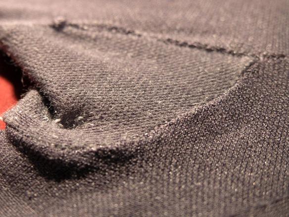 Donna Karan Satin Jersey gray gusset 1