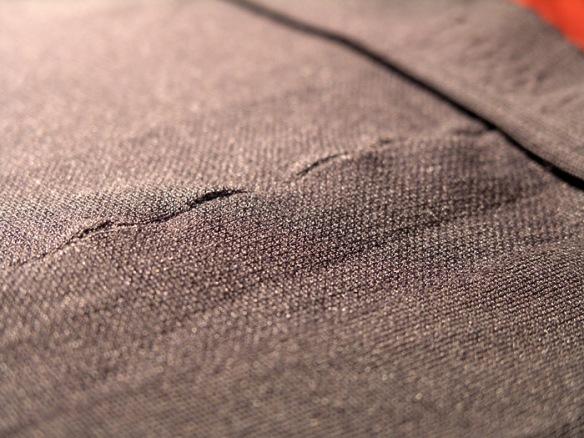 Donna Karan Satin Jersey gray front 2