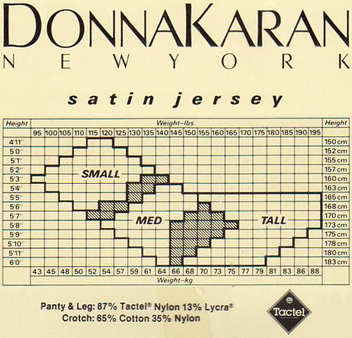 Donna Karan -- Satin Jersey details