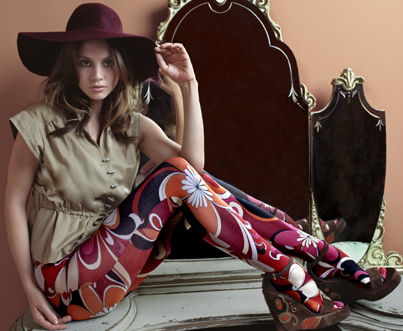 Emilio Pucci Tights retro