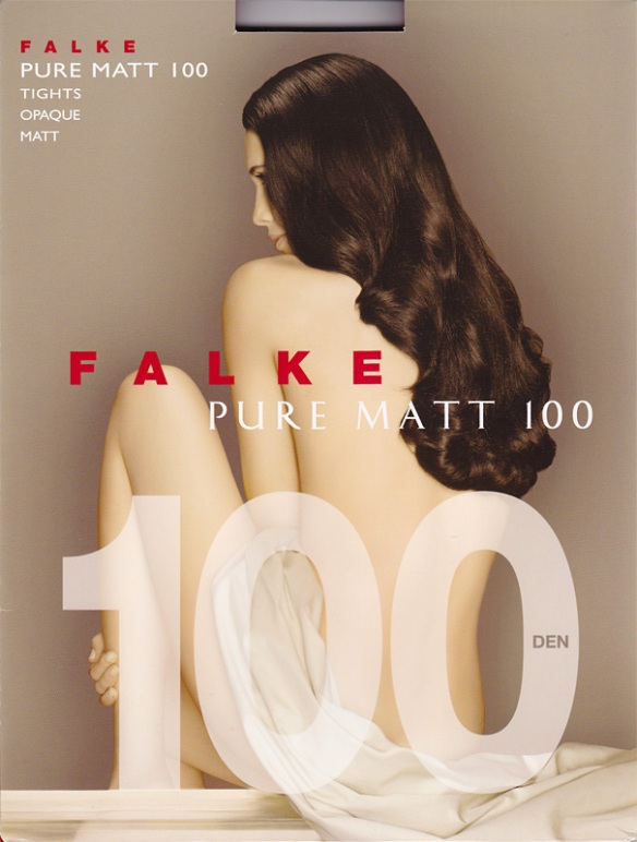 Falke Pure Matt 100 front