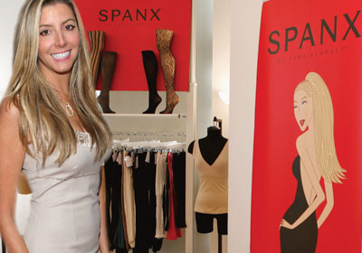 Sara Blakely with Spanx