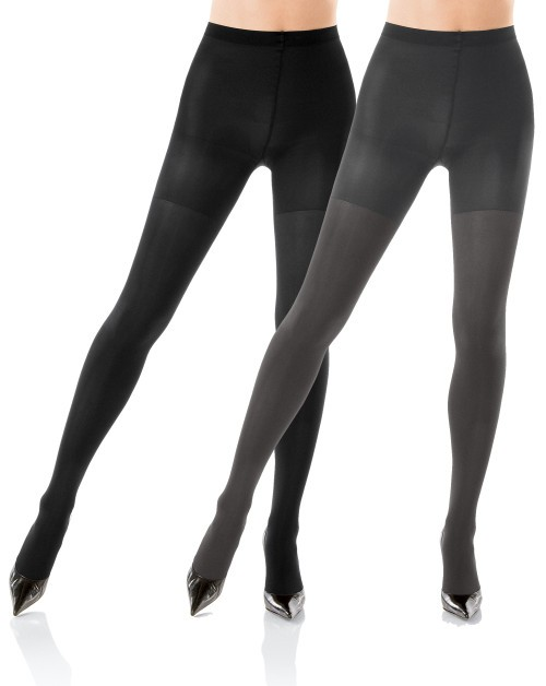 "Spanx Reversible ""Two Timing"" Black/Charcoal"