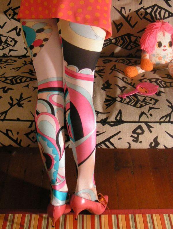 Emilio Pucci tights