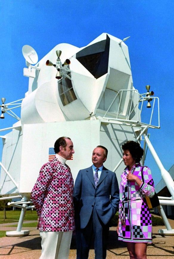 Emilio Pucci at NASA