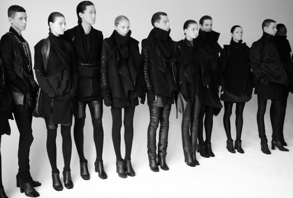 Rad Hourani backstage
