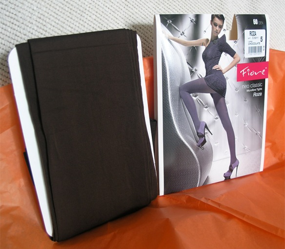 Fiore Roza 60 Den tights packaging