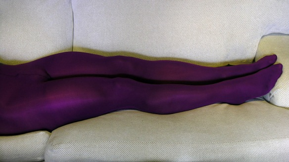 Gatta Rosalia 100 Den purple