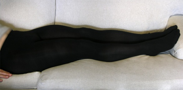 Gatta Rosalia 100 Den black