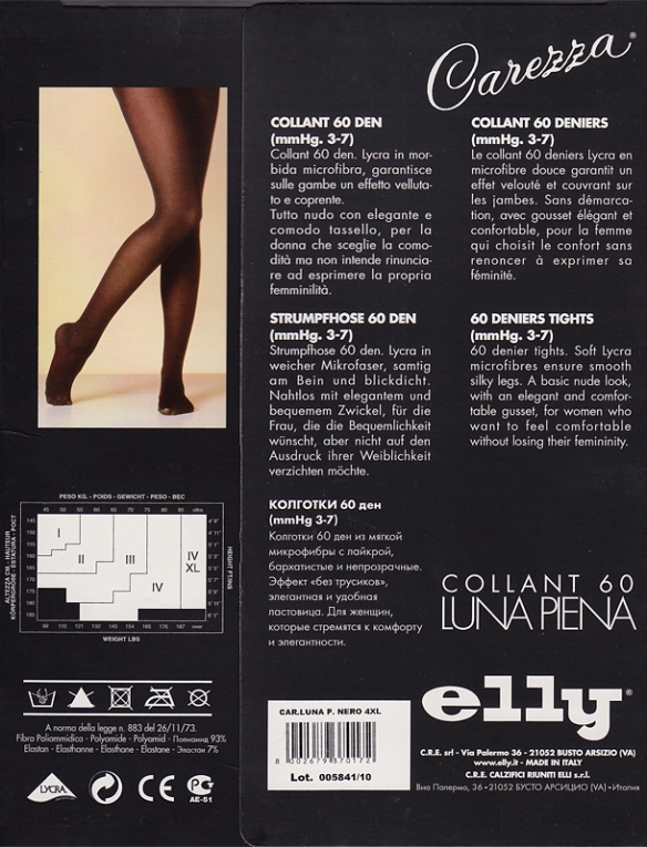 Elly Carezza Luna Piena 60 packaging