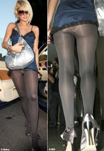 Paris Hilton, tights are not pants