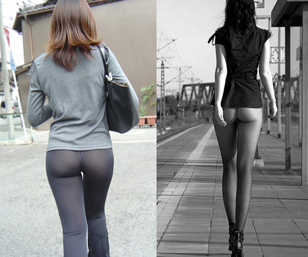 Leggings or tights as pants