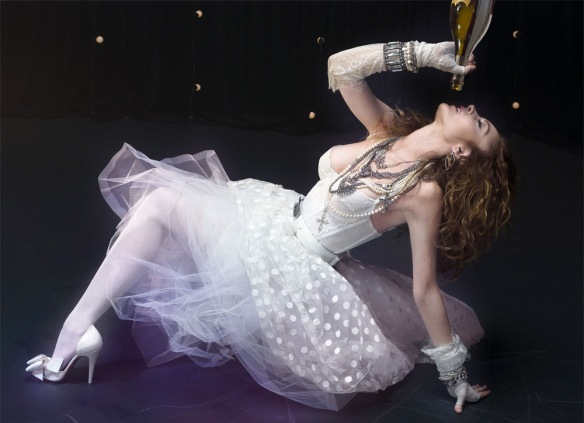 Lindsay Lohan, drinking